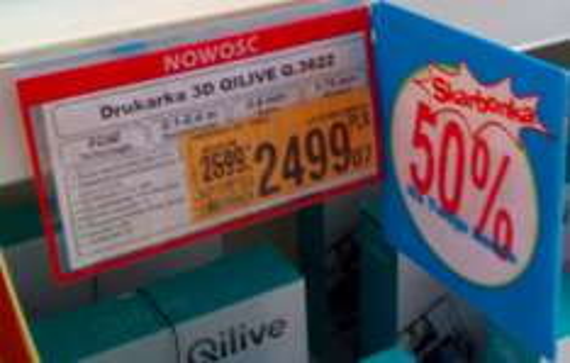 Drukarka 3D Qilive Q.3622 Auchan 50% na skarbonkę