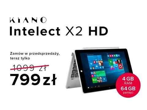 Intelect X2 w przedsprzedaży! urządzenie 2w1 z 4 GB RAM i 64 GB pamięci