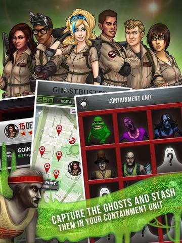 Ghostbusters: Paranormal Blast za darmo @ iTunes