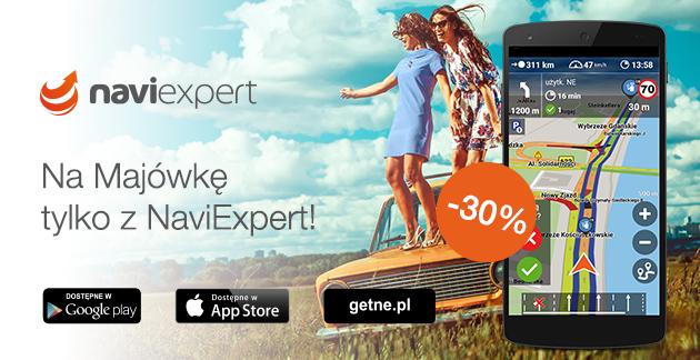 NaviExpert 30% taniej + 30 dni gratis