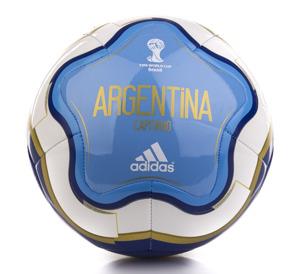 Piłka nożna Adidas Capitano Argentina mini za 39 zł @ Presto