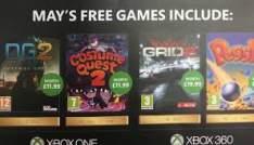 Kolejne Gry Dla posiadaczy Xbox Live Gold na Maj