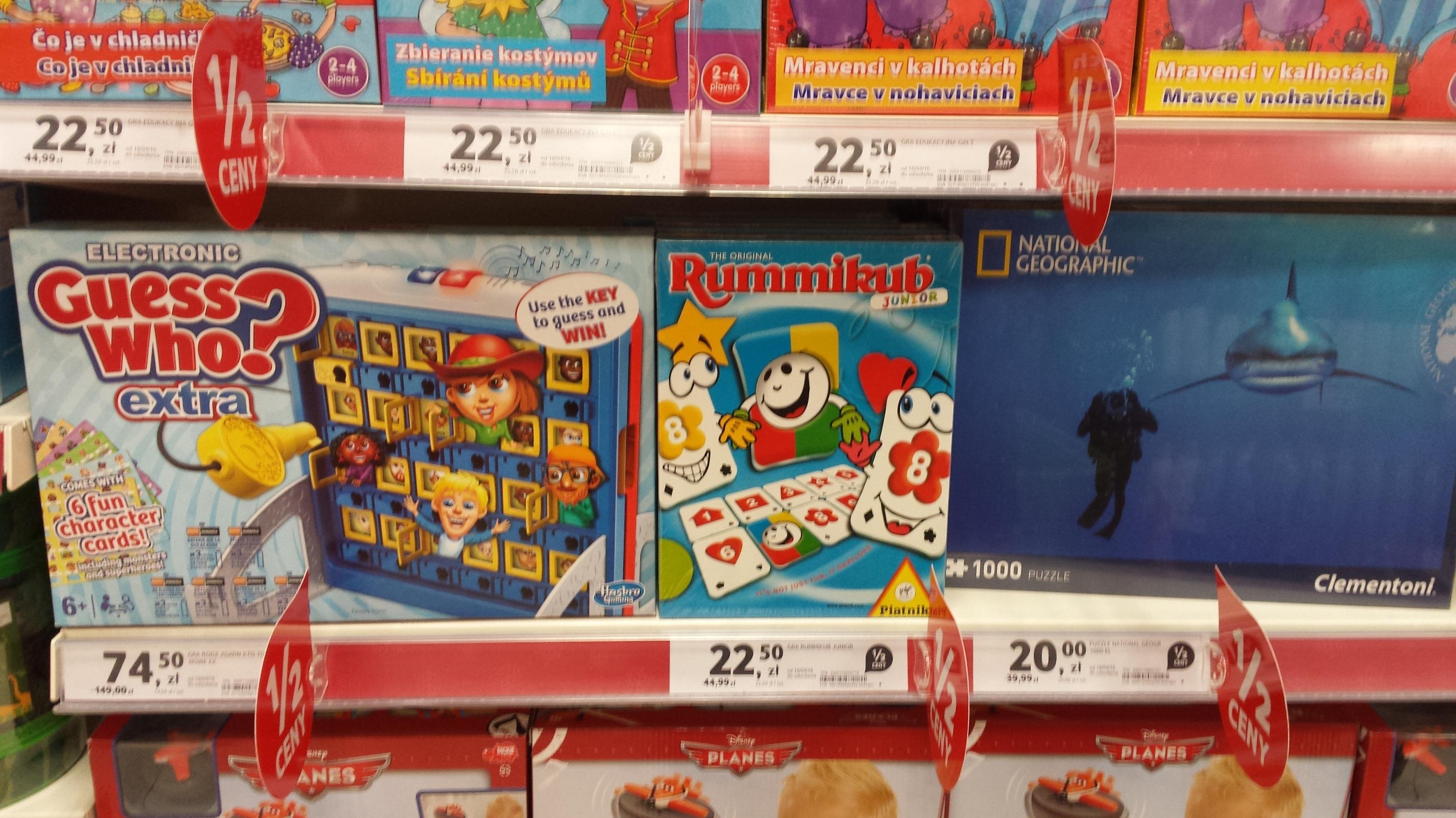 zabawki i animacje dvd @ Tesco lokalnie
