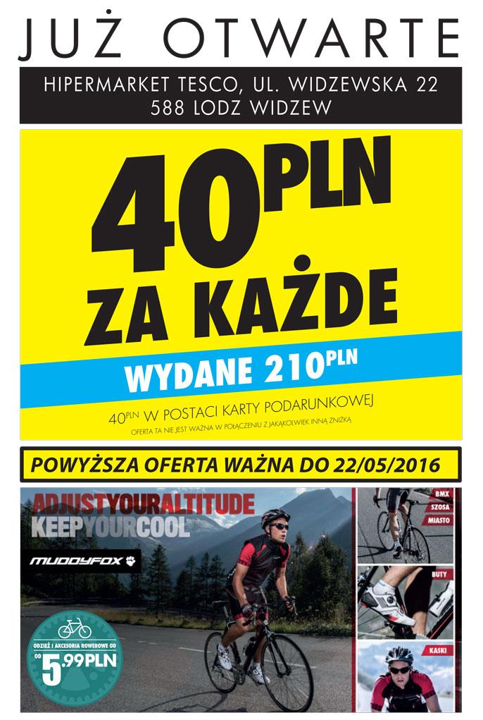 40zł na karcie podarunkowej za każde wydane 210zł @ SportsDirect (Łódź)