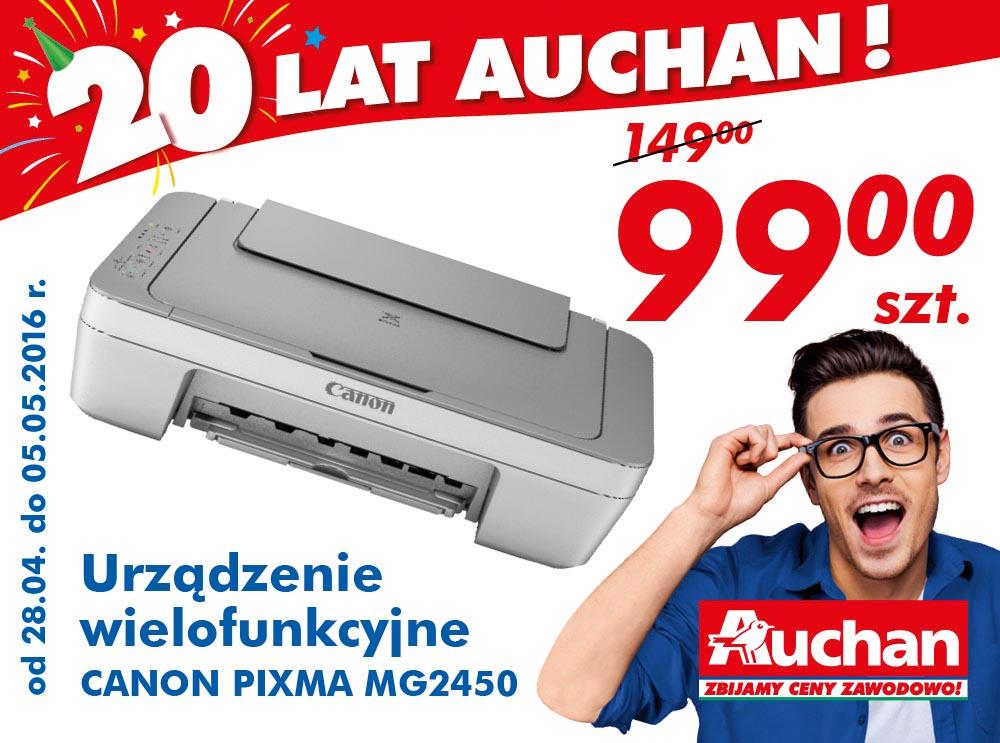 Urządzenie wielofunkcyjne Canon za 99zł (przecena 149zł) @ Auchan