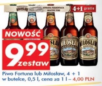 5 piw Miłosław za 9,99 = 2zł sztuka