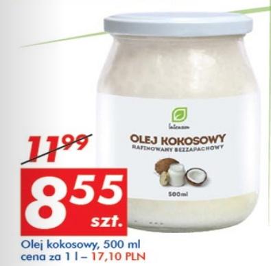Olej kokosowy 500ml za 8,55zł @ Auchan