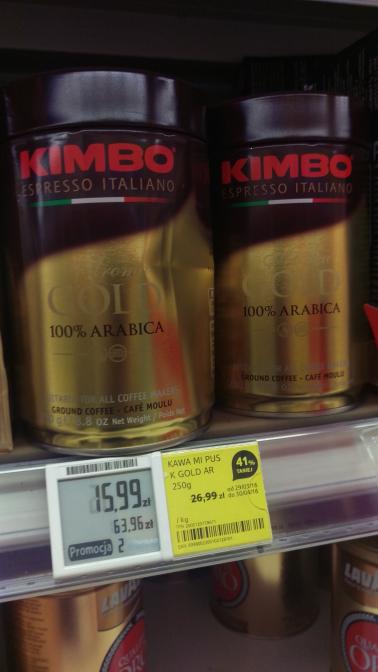 kawa Kimbo 15.99zł w Tesco
