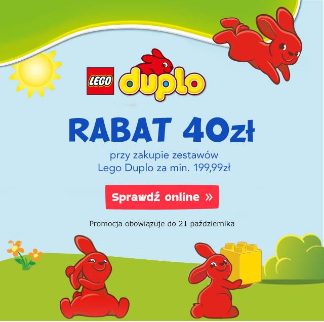 40zł rabatu przy zakupie klocków Lego Duplo za minimum 199,99zł @ Toys'R'us