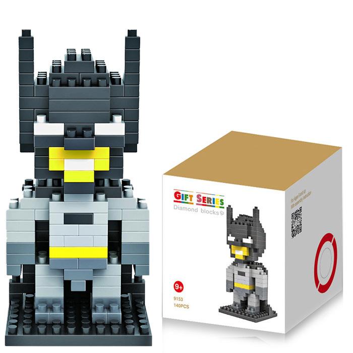 Klocki Batman i inne za ok. 9zł (140 elementów) @ Gearbest