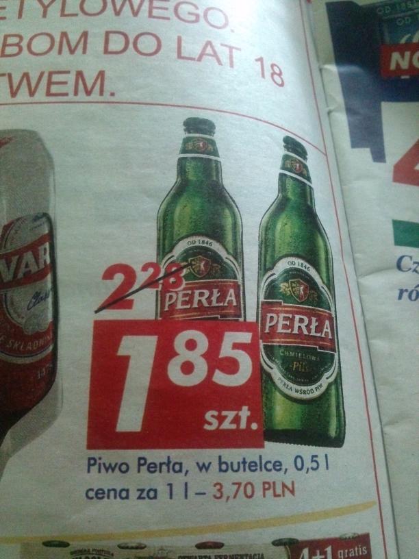 Piwo Perła @ Auchan