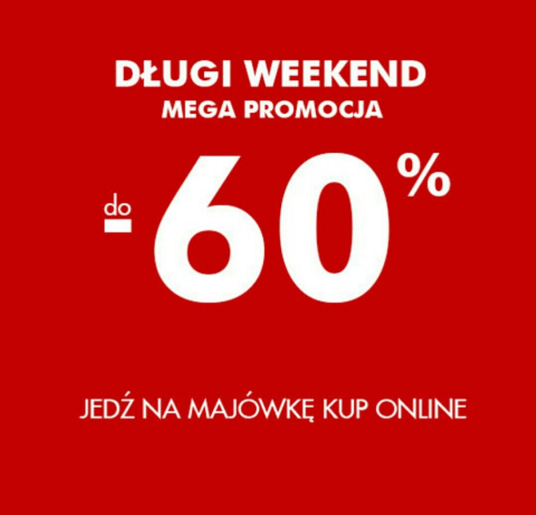 Mega promocja do -60% @ 5.10.15