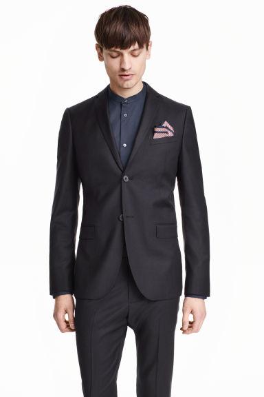 Spodnie garniturowe i marynarka z wełny premium @ HM