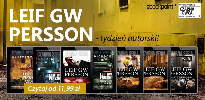 Tydzień autorski: Leif GW Persson od 11,99 zł @ ebookpoint.pl