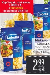 Fartuch GRATIS przy zakupie makaronu Lubella @ Carrefour