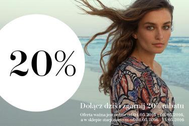 -20% Na pierwszy zakup (także w sklepach stacjonarnych). Startuje H&M Club