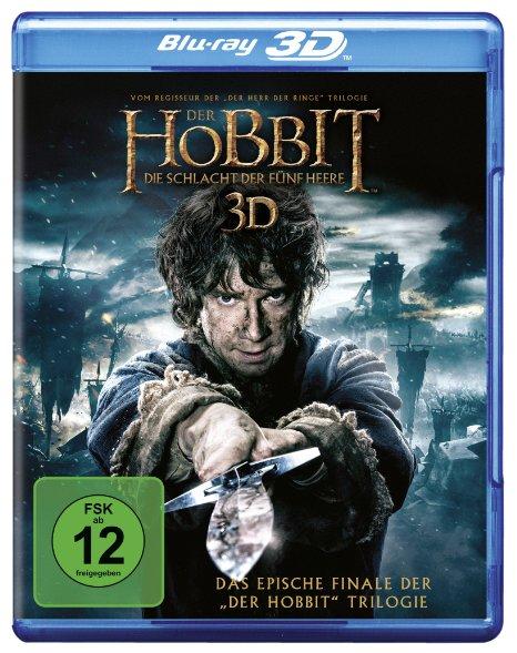 Hobbit. Bitwa Pięciu Armii (3D Blu-ray) za ok. 63zł @ Amazon.de