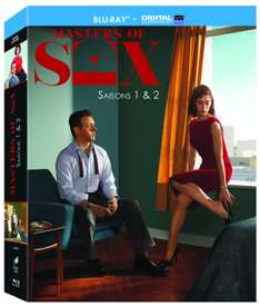 Masters of Sex - Season 1 & 2 (Blu-ray) za ok. 99zł @ Amazon.fr