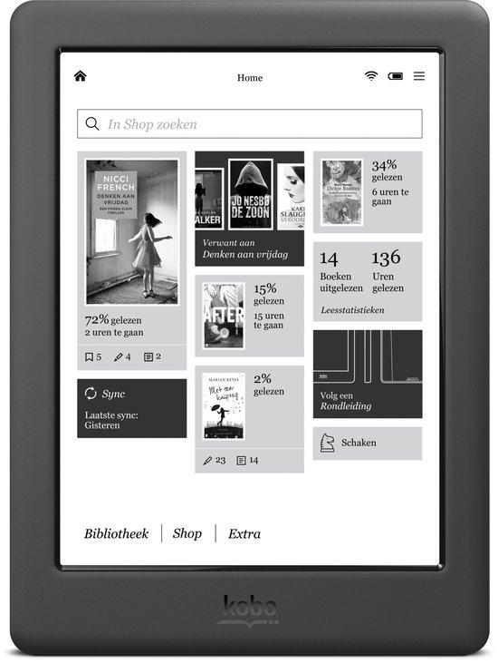 Czytnik Kobo GLO HD z okładką o wartości 29,99€ gratis @ Bol.com