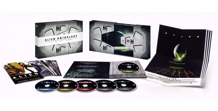 Kolekcja: Alien (wydanie rocznicowe) [6xBlu-Ray] @ dvdmax.pl