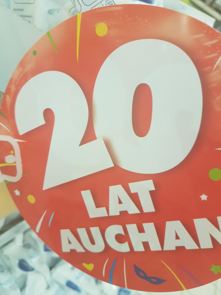 Auchan obchodzi 20 urodziny bardzo dużo promocji