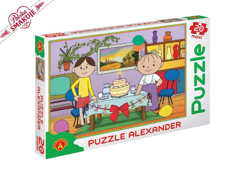 Puzzle dla dzieci (Reksio, Bolek i Lolek) za 14,99zł @ Lidl