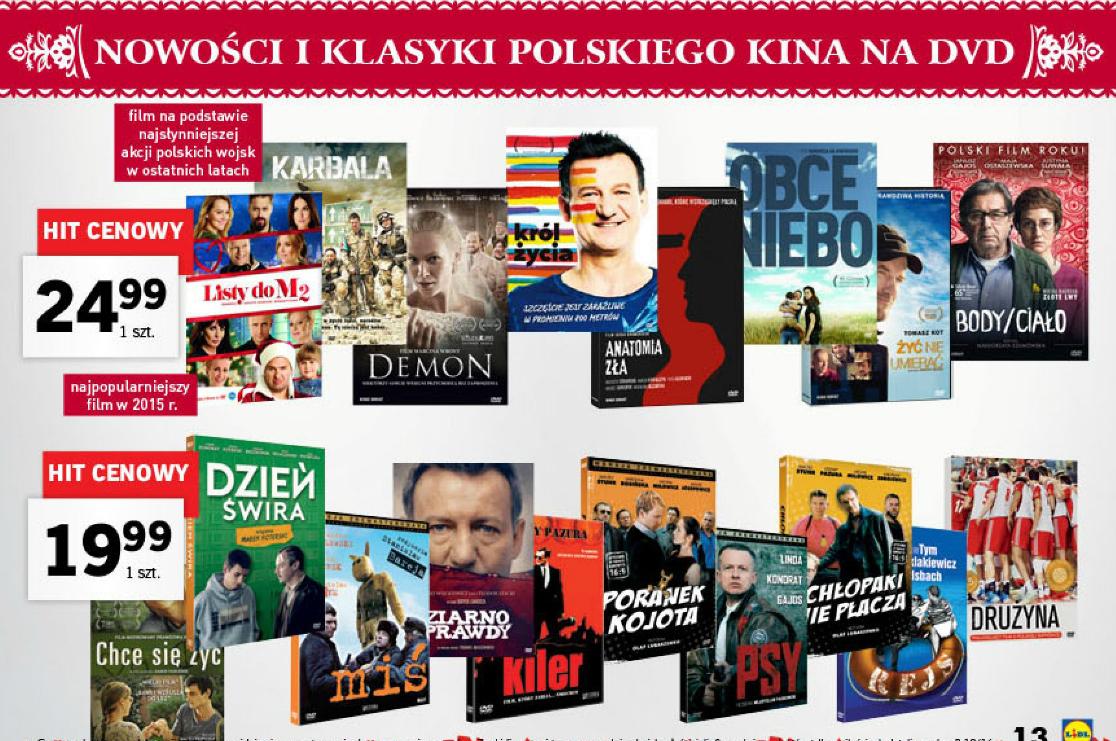 Nowości i klasyki polskiego kina od 19,99zł (Dzień Swira, Miś, Rejs i inne) @ Lidl