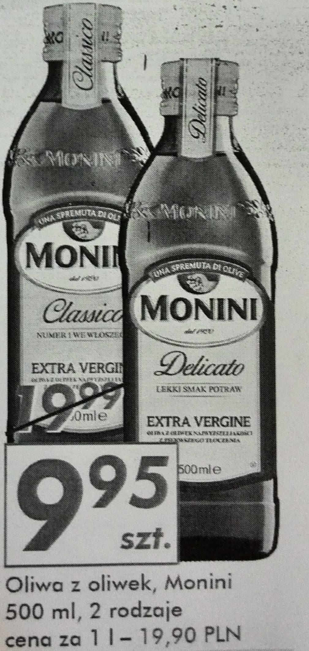 Oliwa z oliwek Extra Vergine - Monini Classico i Delicato @Auchan