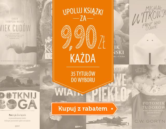 35 książek tytułów na 9,90 (tylko do północy) @ Znak