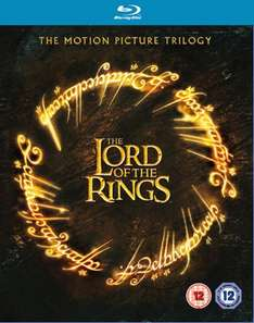 Trylogia Lord of the Rings (Blu-ray) za ok. 57zł @ Zavvi