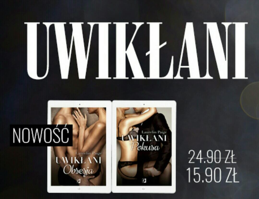 Bestseller 18+! Uwikłani po 15,90 zł @ ebookpoint.pl