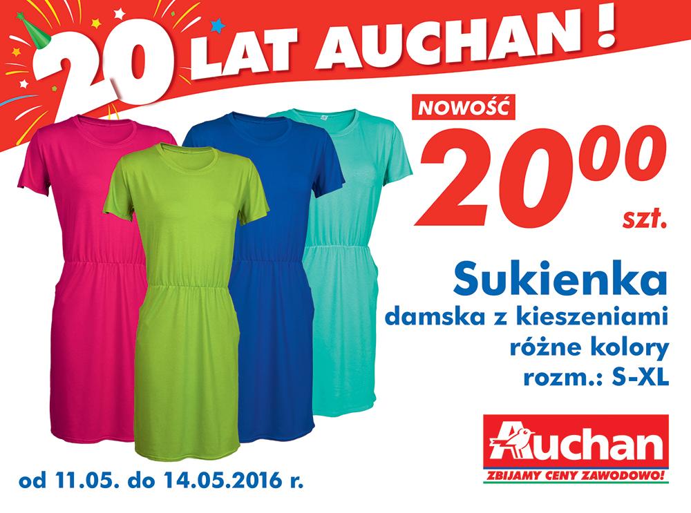 Sukienka damska za 20zł @ Auchan