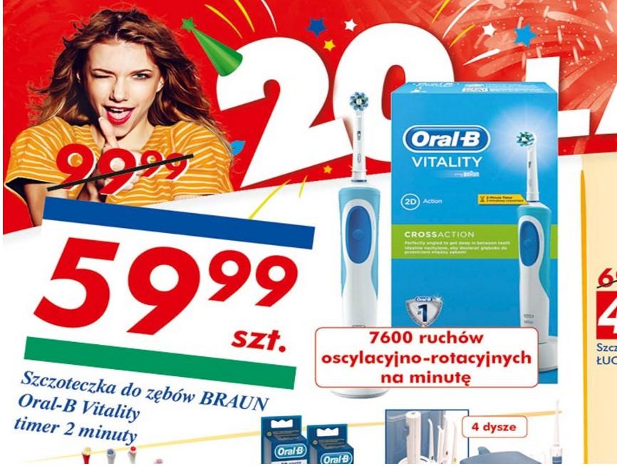 Szczoteczka elektryczna Oral B Vitality @ Auchan