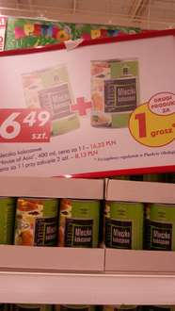 Mleczko kokosowe 400ml 2 w cenie 1 (3.25zł za sztukę) @Auchan
