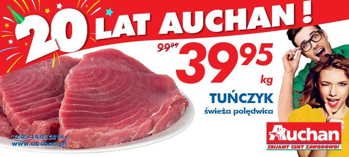Polędwica z TUŃCZYKA za 39,95zł/kg @ Auchan