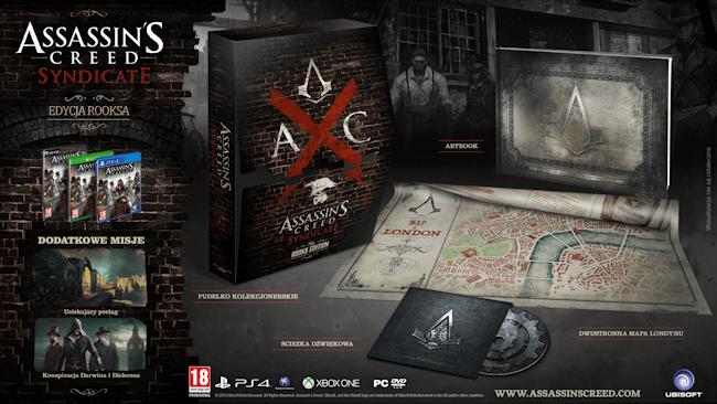 Assassin's Creed Syndicate - Edycja Rooks - 139 zł