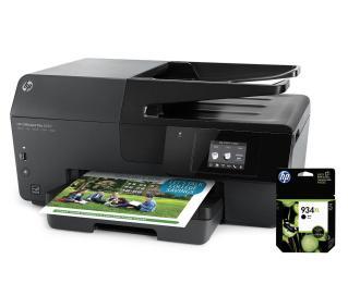 HP Officejet Pro 6830  + tusz 934 XL warto 100zł - całość za 459zł