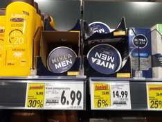 Kaufland - Nivea Men krem 75ml - 6,99 zł