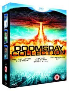 Doomsday Collection Blu-ray (Pojutrze, Dzień, w którym zatrzymała się Ziemia, Dzień Niepodległości) @ Zavvi