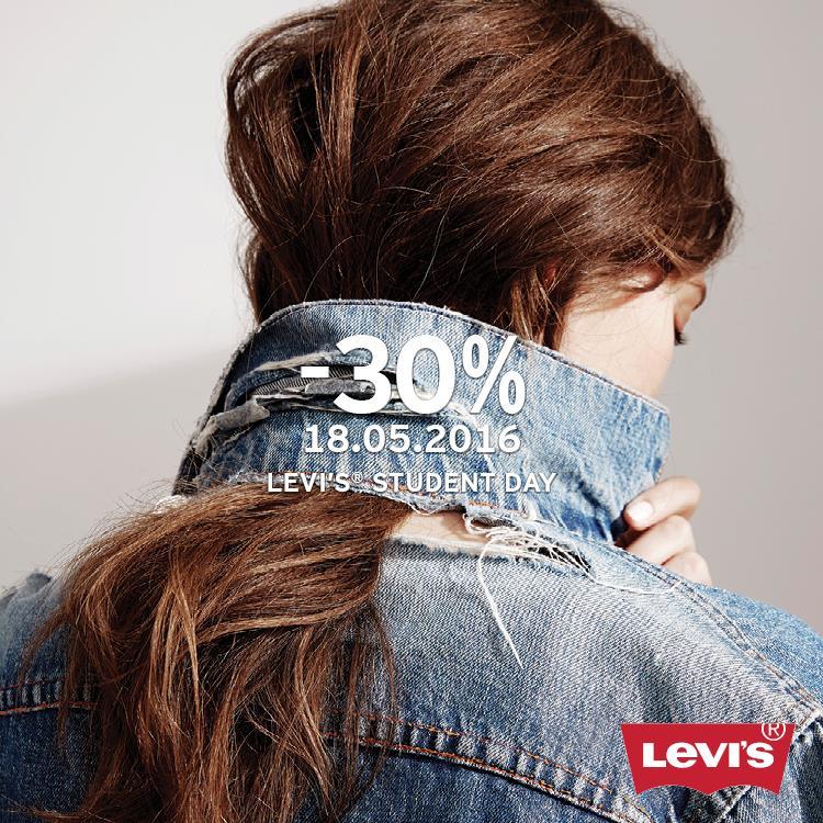 Rabat -30% na całą kolekcję z legitymacją studenta @ Salony Levis