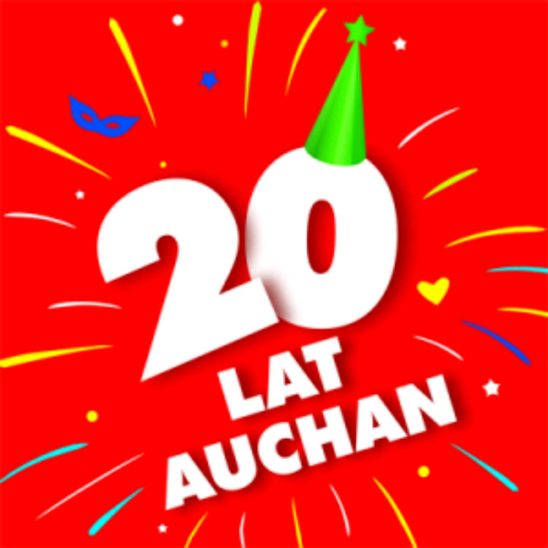 Auchan na 20 urodziny promocje i rabaty do 50%