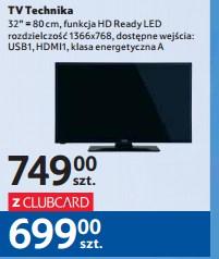 """Tani telewizor w Tesco. 32"""""""