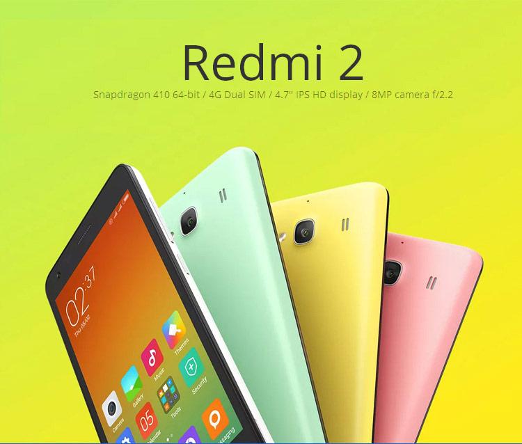 Xiaomi Redmi 2 (1 GB) z darmową wysyłką z Europy