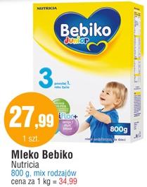 Mleko Bebiko 800g za 27,99zł @ E.Leclerc