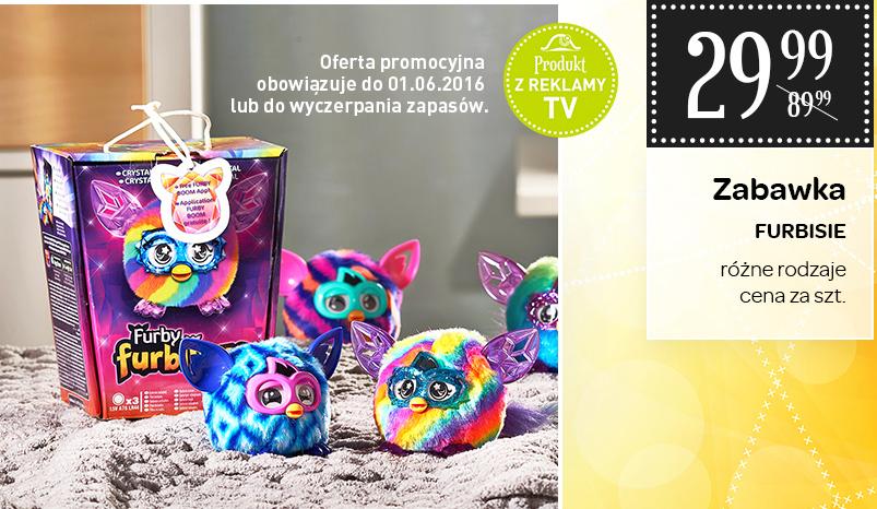 Furbisie za 29,99zł, kryształowy Furby Boom za 139zł @ Carrefour