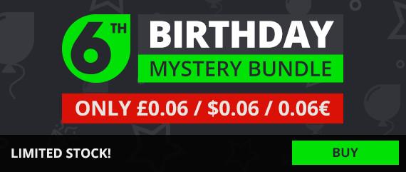 """Urodzinowy """"Mystery Bundle"""" 0,06$ za losową grę @ GMG"""