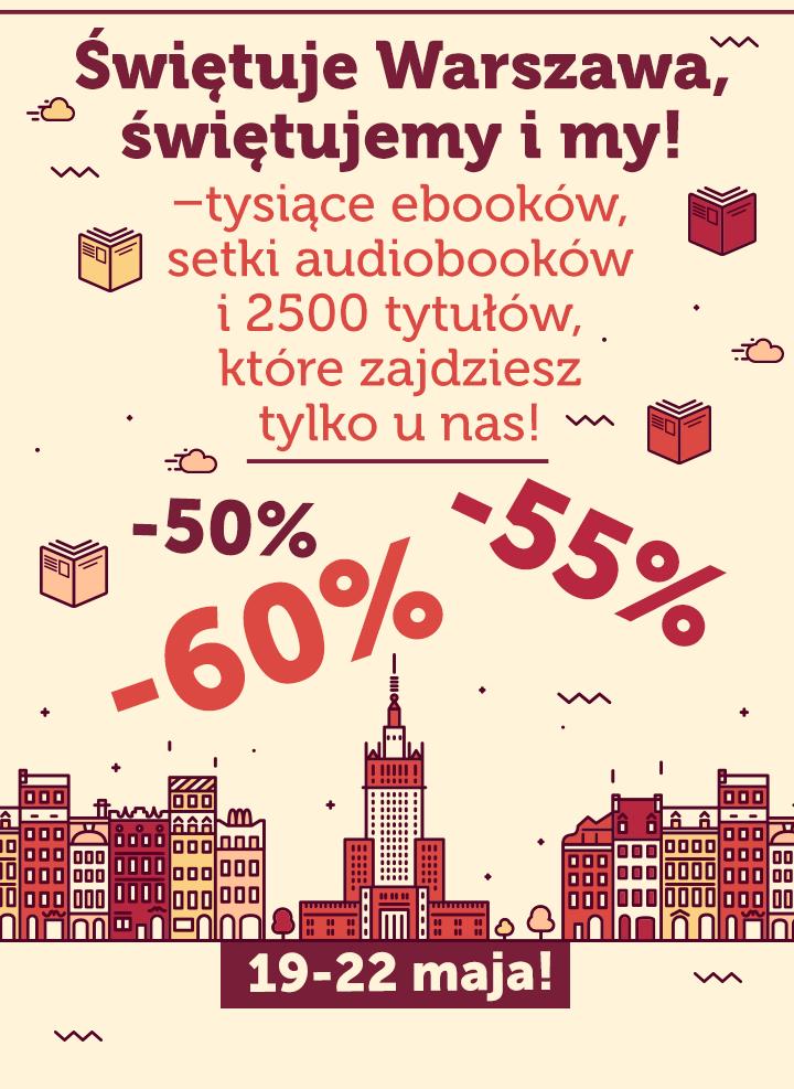 Targi Książki: 50-60% taniej @ ebookpoint.pl