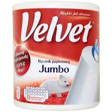 Ręcznik papierowy Velvet Jumbo za 9,99zł @ Kaufland