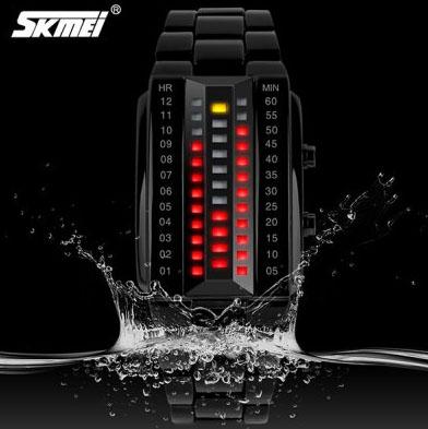 Skmei 1031 LED Designerski wodoodporny zegarek za ok. 54 zł @ GearBest