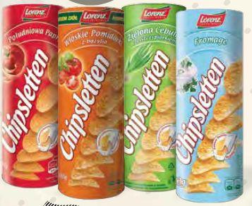 Chipsletten @ AUCHAN   2 opakowania za 3,75 zł ~ 1, 90 zł za opakowanie